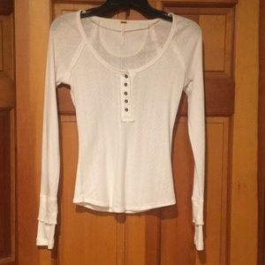 Free people knit top.